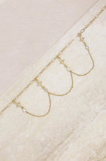 Buried Treasure 18k Gold Plated Choker
