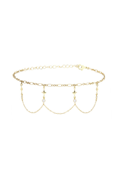 Buried Treasure Choker in Gold
