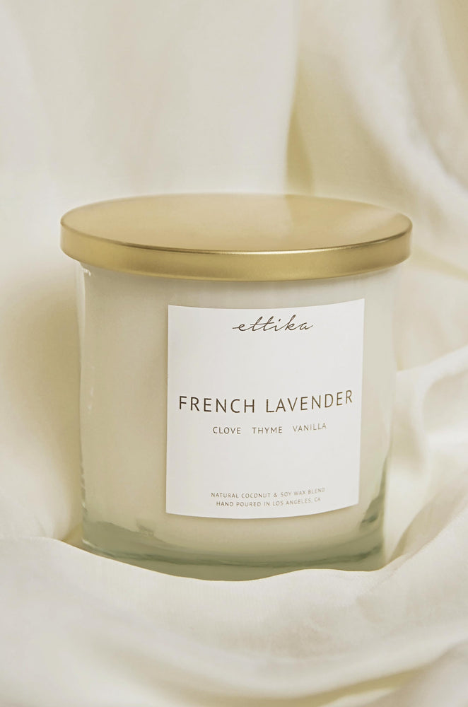 French Lavender 8oz Candle