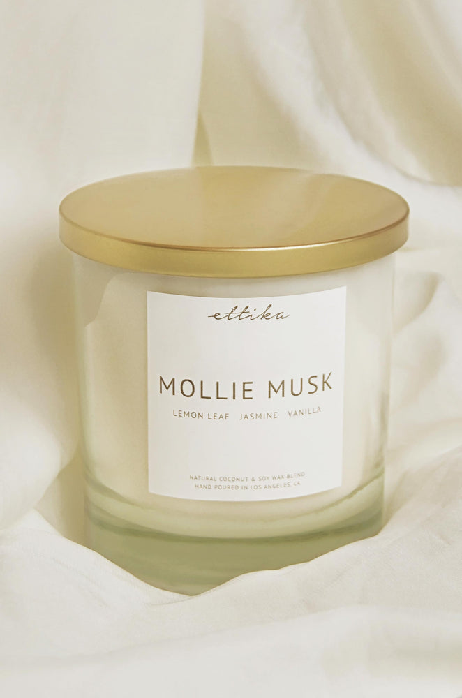 Mollie Musk 8oz Candle