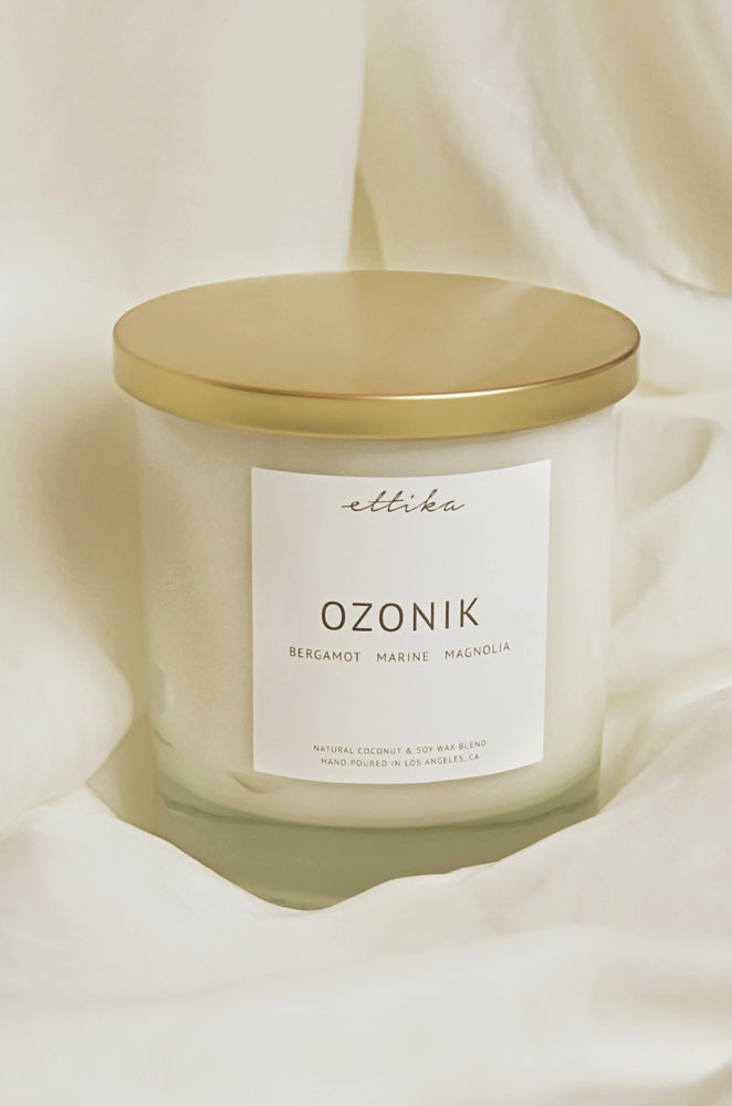 Ozonik 8oz Candle