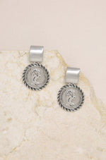 Mini Ancient Coin Earrings