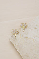 Palmasté 18k Gold Plated Stud Earrings
