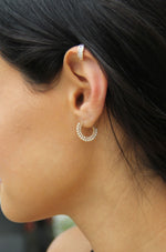 Forever Shine Crystal Mini Hoop Earrings