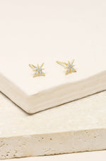 Crystal Interstellar Earring Studs