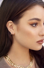Sparkle 18k Gold Plated Ear Wrap
