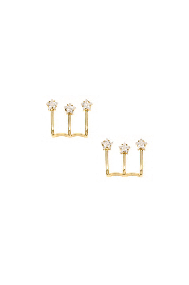 Constellation Wrap 18k Gold Plated Earring