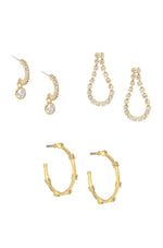 My New Favorites 18k Gold Plated Earring Set