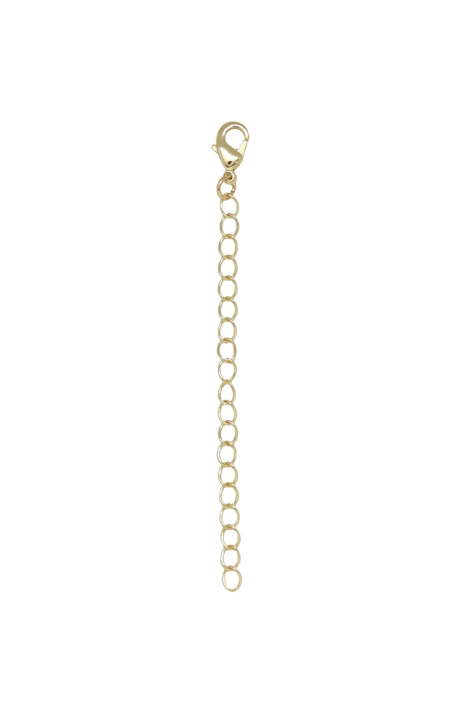 Standard 18k Gold Plated Extender on white background