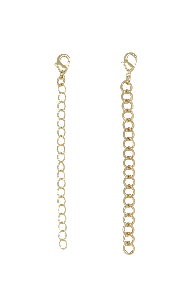 Standard & Statement 18k Gold Plated Extender Pack of 2