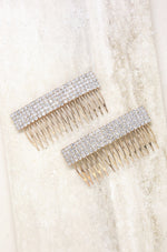 Dynasty Hair Comb Set in Crystal