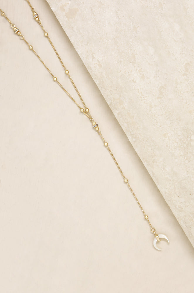 Ride the Wave 18k Gold Plated Necklace