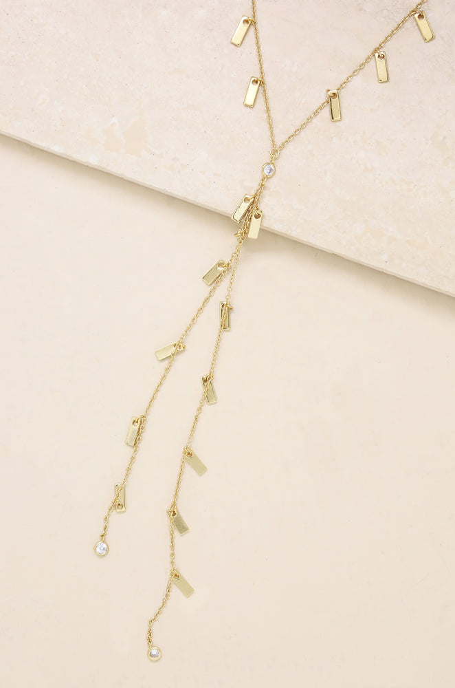 Sweet Escape Necklace in Gold