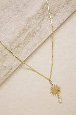 Stargirl Crystal and 18k Gold Plated Necklace