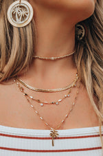 West Palm Layered 18k Gold Plated Necklace