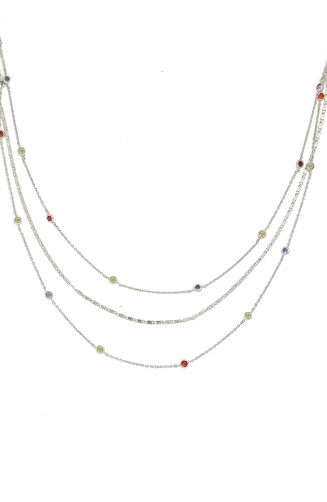 Over the Rainbow Layered Necklace