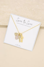 Love to Love Interchangeable Charm Necklace