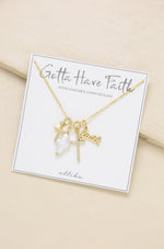 Gotta Have Faith Interchangeable Charm Necklace