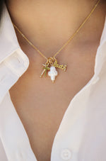 Gotta Have Faith 18k Gold Plated Interchangeable Charm Necklace