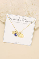 Tropical Getaway Interchangeable Charm Necklace