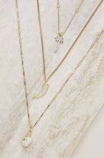 In the Tropics 18k Gold Plated Necklace Set