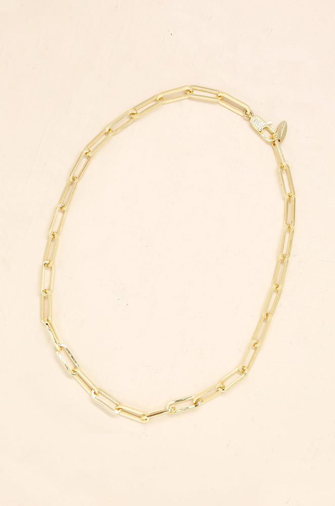 Interlinked Chain Necklace