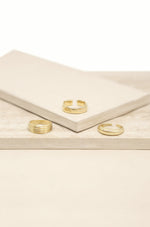 Golden Glow 18k Gold Plated Ring Set