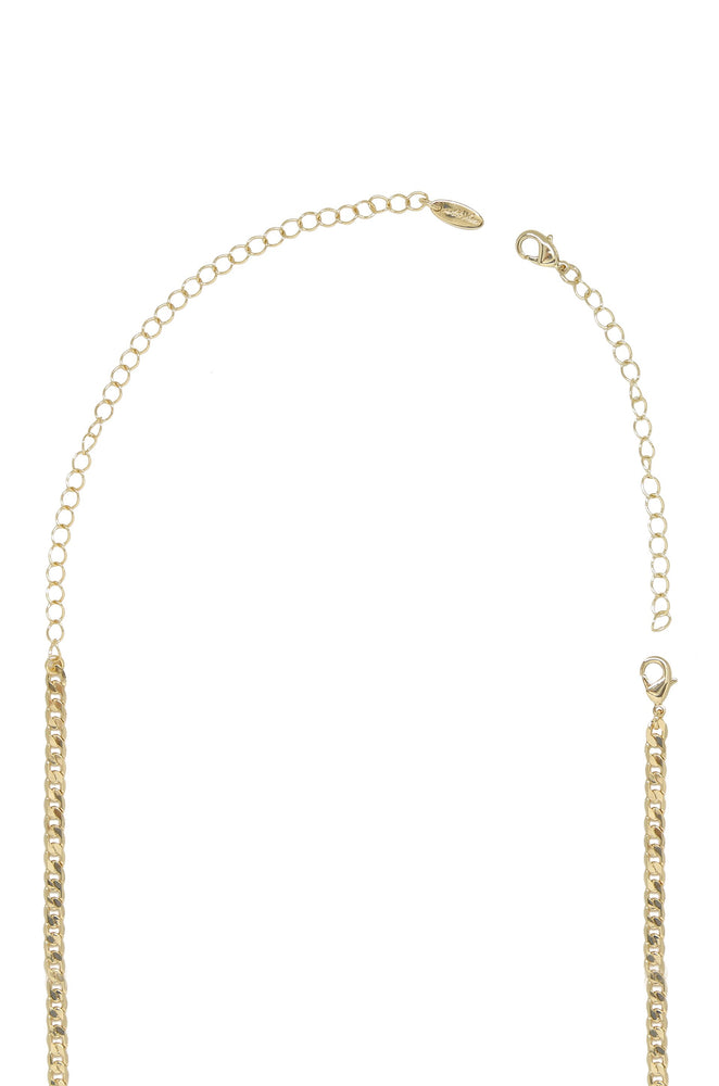 Statement 18k Gold Plated Extender