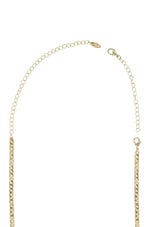 Standard 18k Gold Plated Extender on white background  2