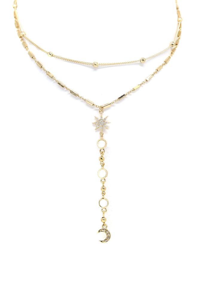 Wish Upon A Neckline Choker In Gold