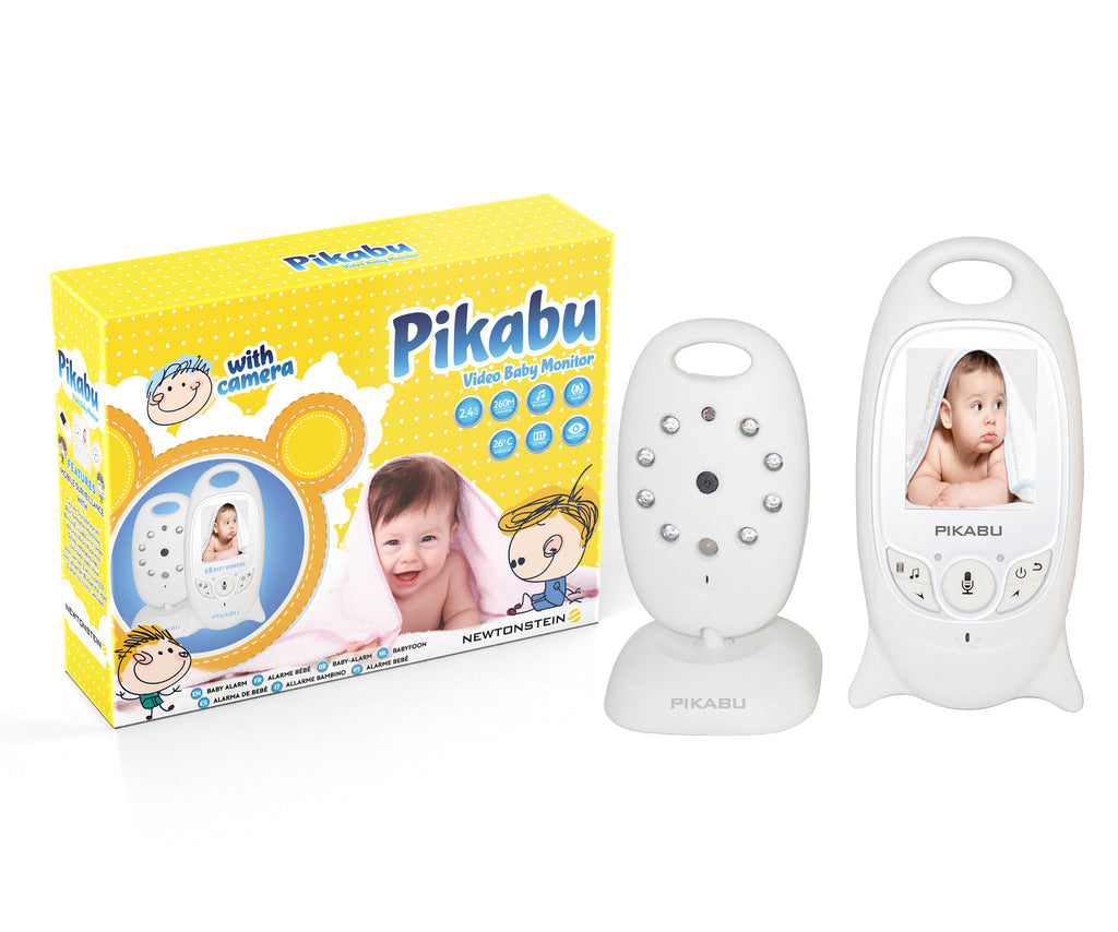 Pikabu - Wireless Digital Baby Alarm with Lullabies