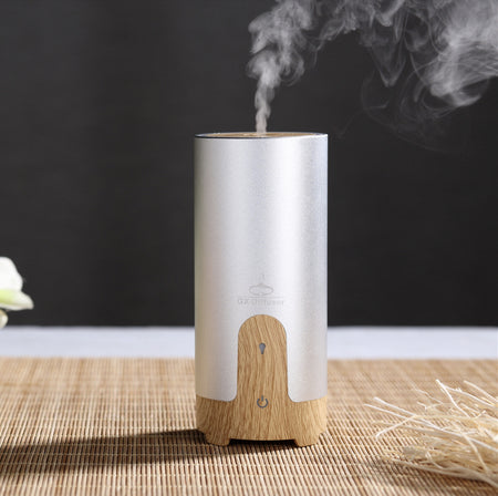 Difusian IRIS -  Ultrasonic Aroma Therapy Essential Oil Diffuser + 4 FREE 10mL essential oil