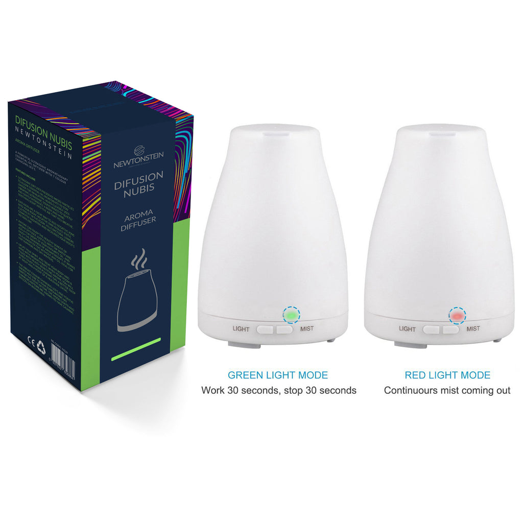Difusian NUBIS - A Powerful Ultrasonic Aroma Therapy Essential Oil Diffuser with Color changing