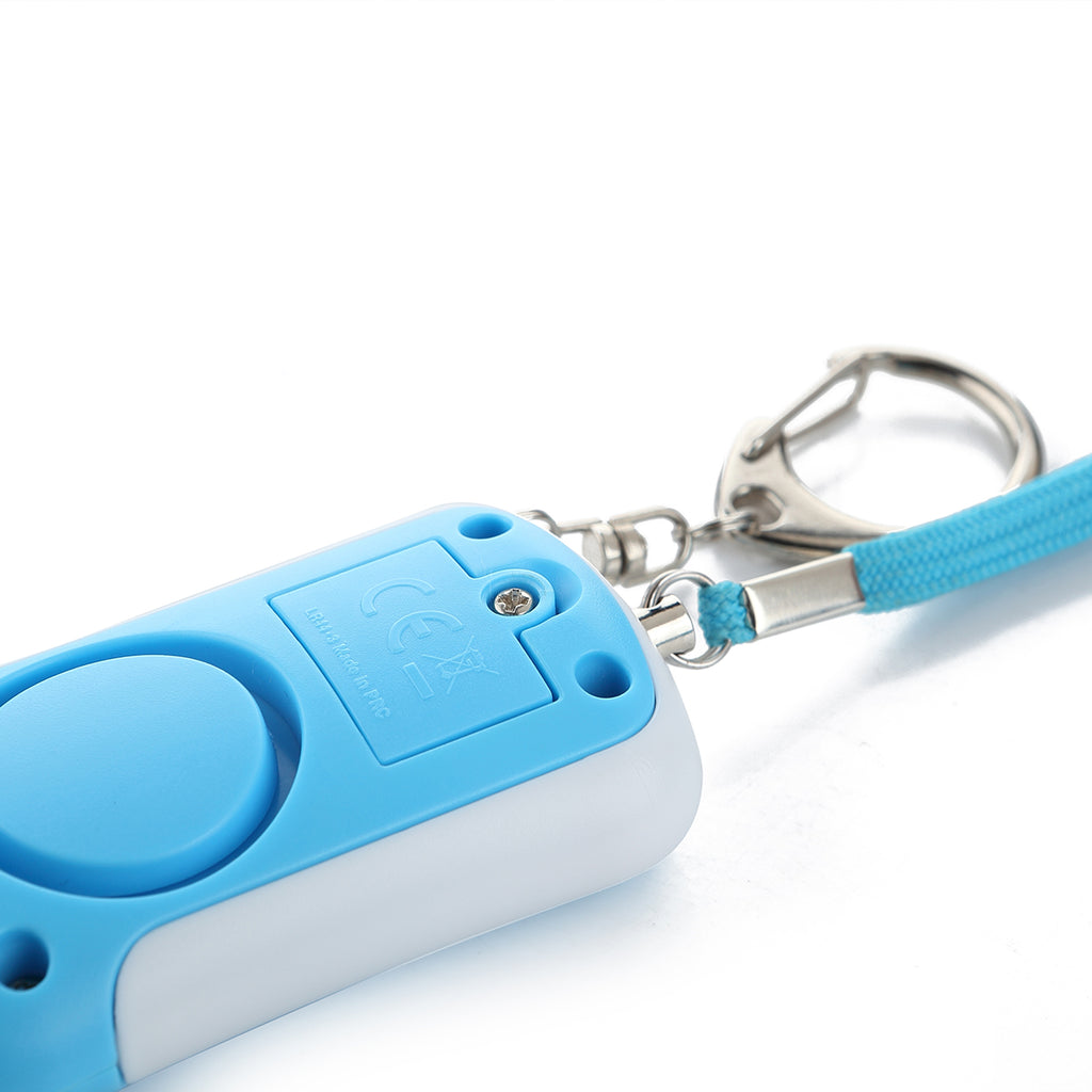 Vanguard - Mobile Alarm System as a key ring with LED light - Key Alarm - Ideal mobile siren for