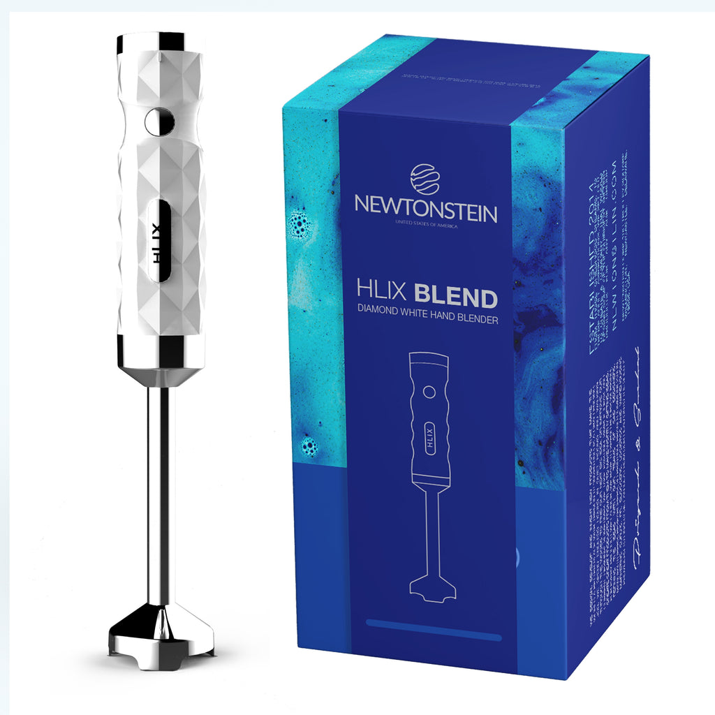 hLix BLEND - Diamond White hand blender 550W with food collection with 700ml Beaker + 5 speed