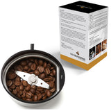 hLix BEANGRIND - Black - Coffee, Nut and Spice Grinder with Twin Cutting Stainless Steel Blades, 75