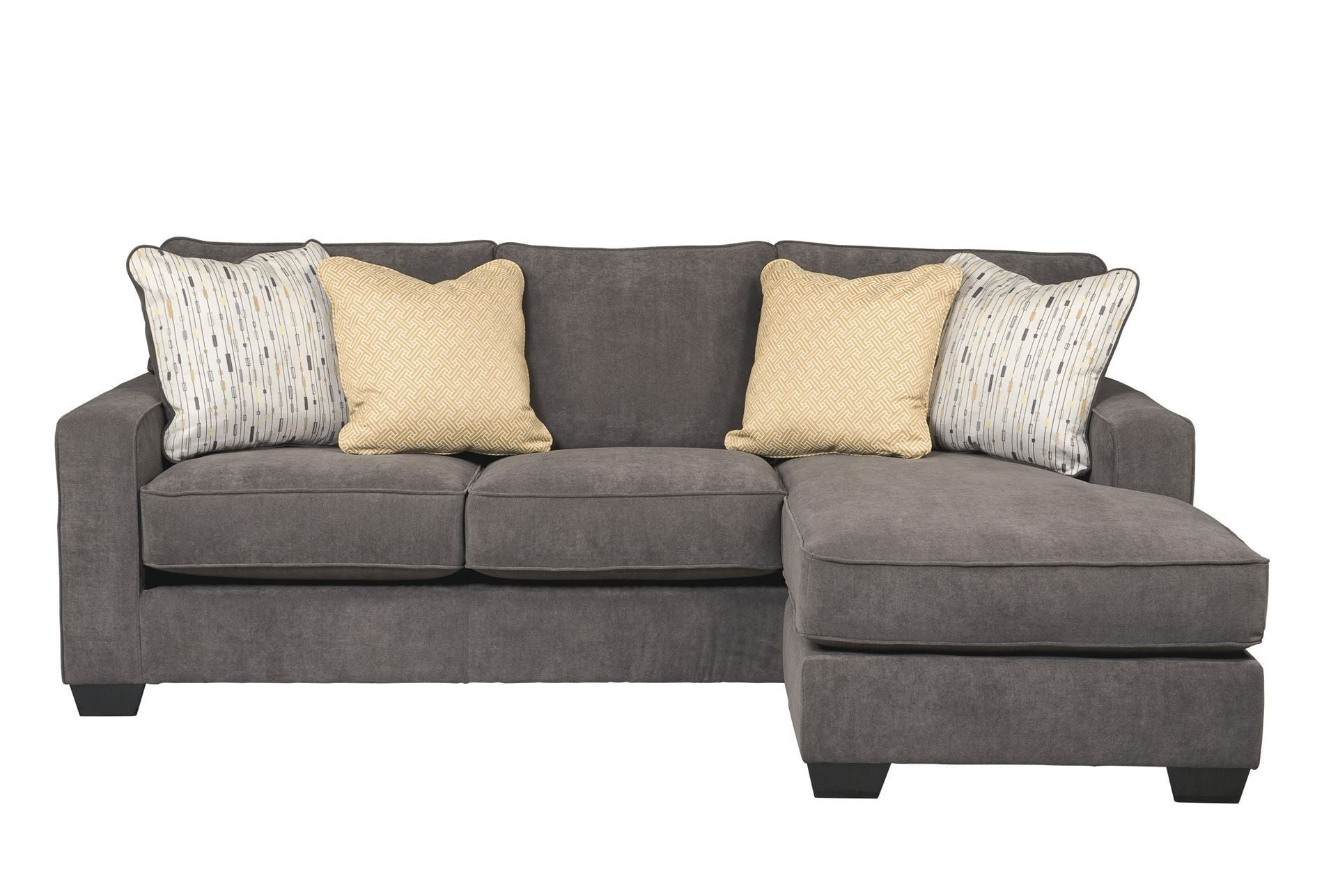 Great Grey Reversible Chaise Sectional Sofa – The Philadelphia