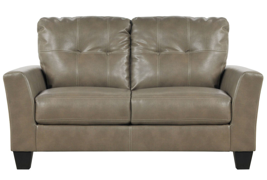 Taupe Leather Sofa Loveseat Set The Philadelphia Sofa Store