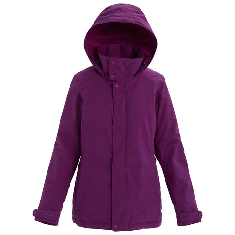 Burton 19/20 Women's Jet Set Jacket Front - Charisma Heather