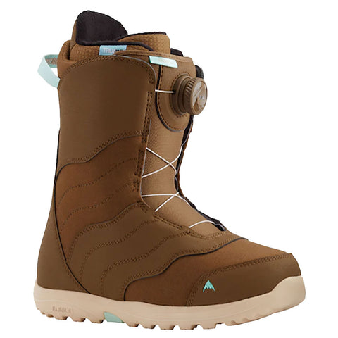 Burton 20/21 Women's Mint BOA Boots - Brown Side