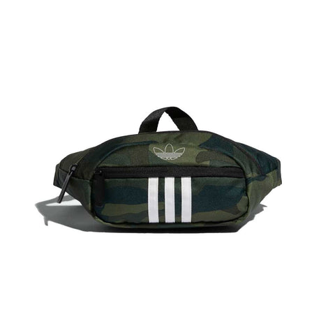 Adidas OG National 3-Stripes Waist Pack - Camo/White Front