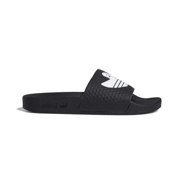 Adidas Shmoofoil Slide - Black/White/White Side