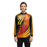 Adidas Na-Kel Jersey - Black/Yellow/Bright Orange/Red Front with Model