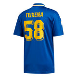 Adidas Teixeira Jersey - Collegiate Royal/Bold Gold/White Back