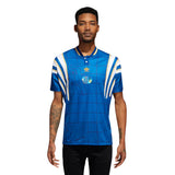Adidas Teixeira Jersey - Collegiate Royal/Bold Gold/White Front with model
