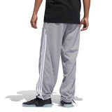 Adidas Insley Sweatpant - Medium Grey Heather/White Back with model
