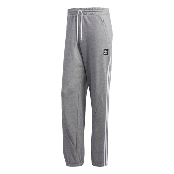Adidas Insley Sweatpant - Medium Grey Heather/White Front