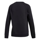 Adidas Women's Trefoil Sweatshirt - Black Back
