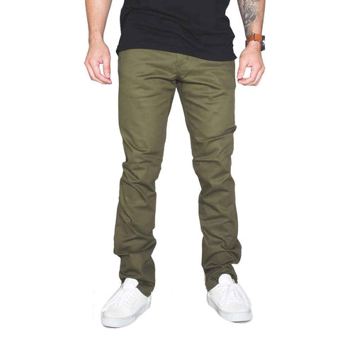BLKWD Classic Chino - True Olive Front