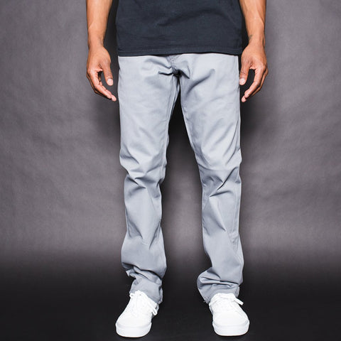 BLKWD Classic Chino Pants - Light Grey